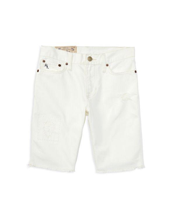 Ralph Lauren Childrenswear Boys' Distressed Denim Shorts - Sizes 8-20