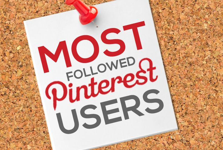 The whose who of the #Pinterest #world