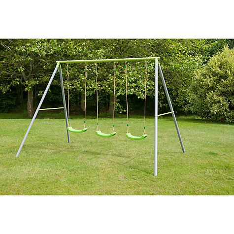 Buy TP Toys TP522 Triple Metal Swing Set Online at johnlewis.com