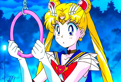 Funny Super Sailor Moon gif