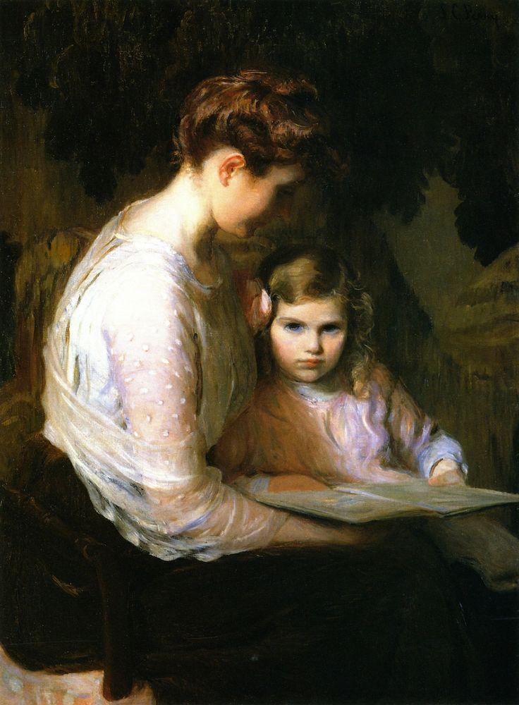 pintura de Lilla Cabot Perry