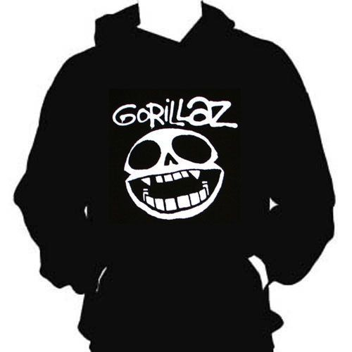Gorillaz X-Ray Logo Hooded Sweatshirt t-shirt S-M-L-XL-XXL New Black in Clothing, Shoes & Accessories, Men's Clothing, Sweats & Hoodies | eBay