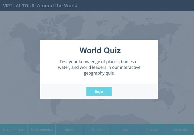 See how you can build a cool Around the World Quiz like this one - and get the free download to make it your own!