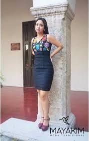 Resultado de imagen para vestidos bordados yucatecos