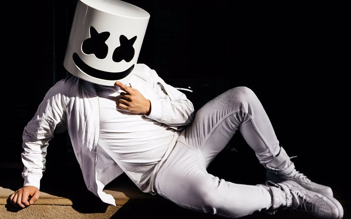 Download wallpapers Marshmello, DJ, celebrity, superstars, DJ Marshmello