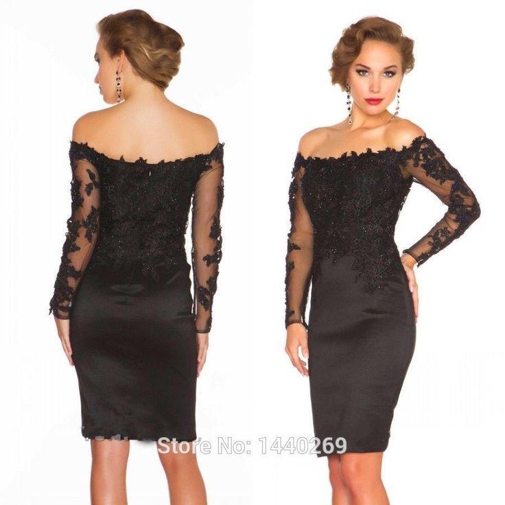 Corto Negro Madre De La Novia Vestido talla grande para mujer Baile de Graduación Cóctel Fiesta Vestido | Ropa, calzado y accesorios, Ropa de boda y formal, Madre de la novia | eBay!