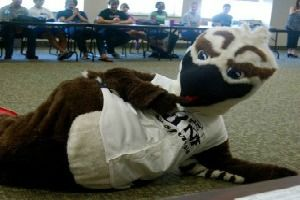 Ozzie Osprey - Mascot at UNF. Number: 00 Height: 7'2 ...