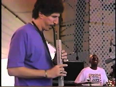 Bob Mintzer's EWI Adventure:  Yellowjackets LIve in Jacksonville, 1993