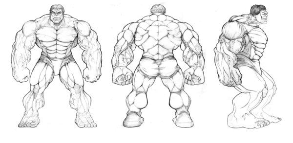 hulk avengers turnaround | Art Learnin | Pinterest | Hulk avengers, Comic and Characters
