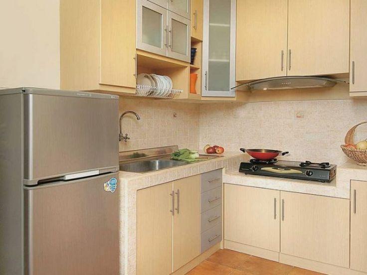 desain interior dapur mungil minimalis-Interior Dapur Mungil