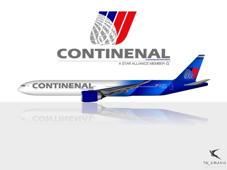 United Continental B777