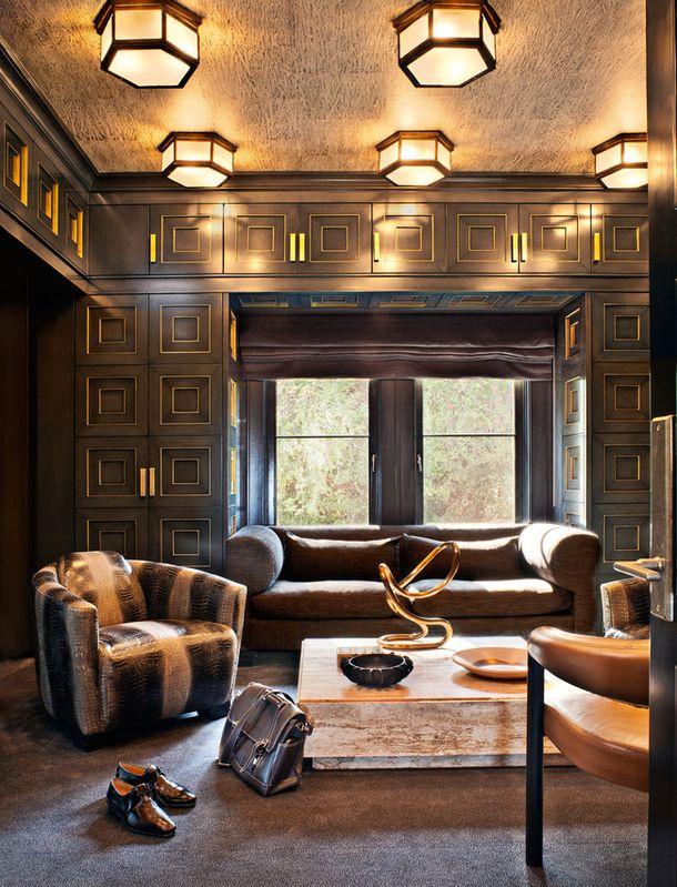 New project designer Kelly Uirstler | Glam, Living room | admagazine