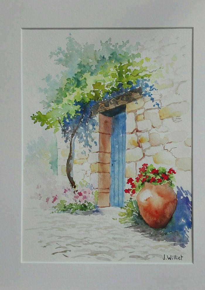 Paysages Jardins En 2020 Avec Images Comment Peindre