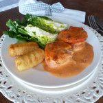 Aus+dem+Slowcooker:+Schweinelendchen+in+Tomatenrahm