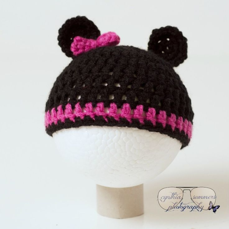Excited to share the latest addition to my #etsy shop: Mickey and Minnie mouse inspired infant hats http://etsy.me/2mpZiAu