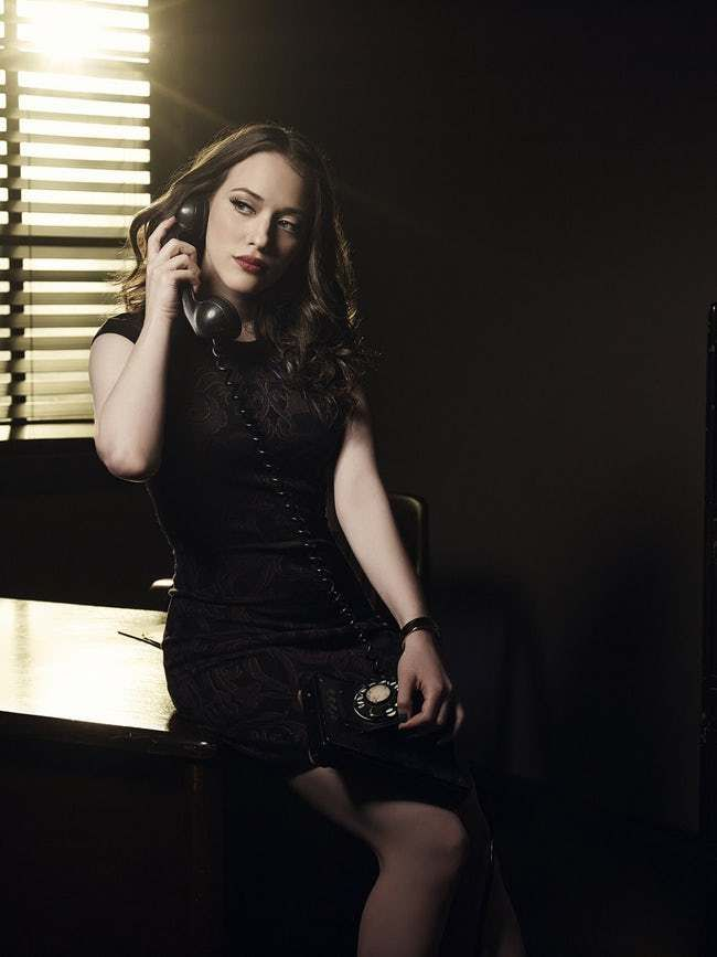 Spokesperson for the New IPhon is listed (or ranked) 21 on the list The 28 Hottest Pics of Kat Dennings