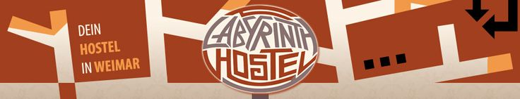 The Labyrinth Hostel in Weimar - looks great!