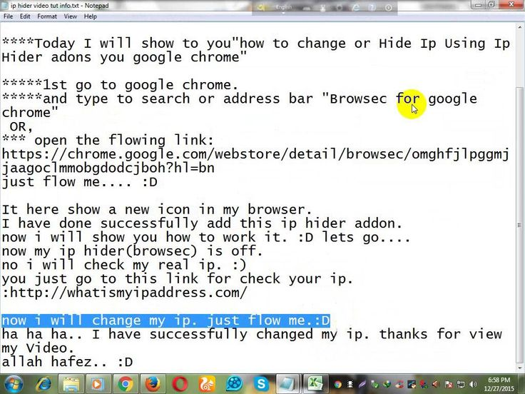 how to change or Hide Ip Address using ip hider Addons for your google c...