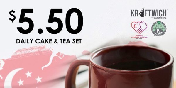 Kraftwich Sg 5 50 Daily Cake Tea Set National Day Promotion 1 31 Aug 2020 In 2020 Tea Set Hot Tea Dining Deals