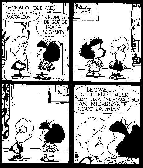 Problemas de personalidad... #MafaldaQuotes