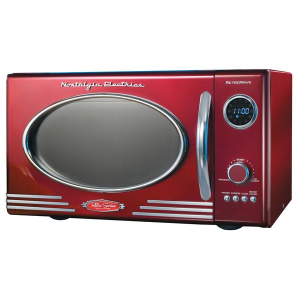 Nostalgia Electrics Retro Microwave Oven - Overstock™ Shopping - Big Discounts on Nostalgia Products Group Microwaves