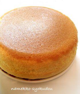 ●炊飯器で簡単☆ふんわりスポンジケーキ●