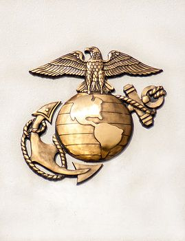 Marine Eagle Globe and Anchor of the United States Marine Corps. Thank you to all the Marines who are serving, and all the veterans who have served in the USMC