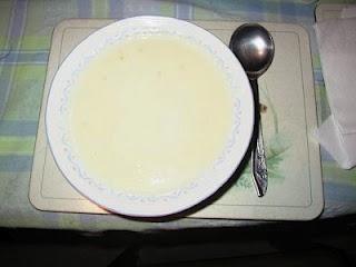 Cheesy Cauliflower and Mustard Soup