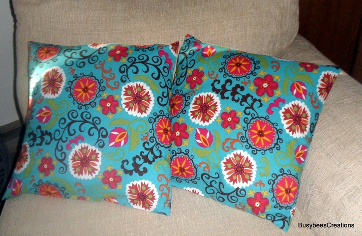 #ad 40% off of spring throw pillow covers. These are beautiful handsewn and perfect to add as an accent piece to brighten up that boring chair for Spring.