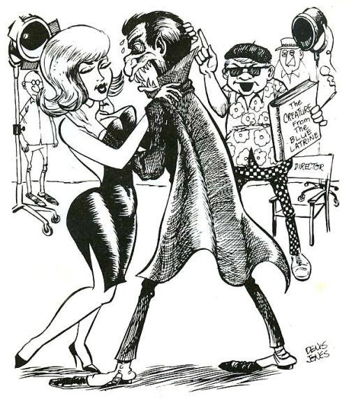 mykillyvalentine:  Early 1970s cartoon by Denis Jones.