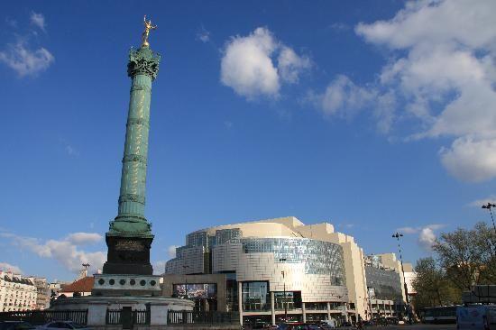 neighborhoods of Paris France | Place de la Bastille - Paris - Reviews of Place de la Bastille ...