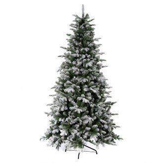Albero di Natale 270 cm floccato Poly Everest F. | vendita online su HOLYART