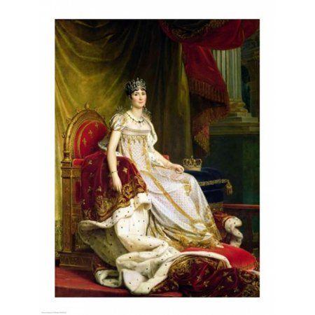 Empress Josephine Canvas Art - Francois Gerard (18 x 24)