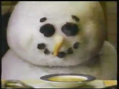 Campbell's Soup Let it Snow Commercial...remember this one from when I was a kid. <3