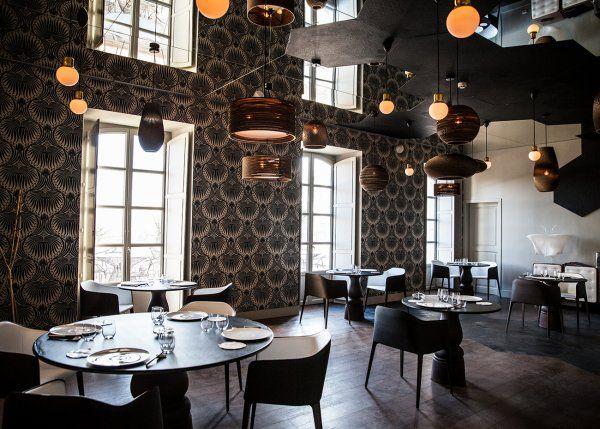 Papier Peint - Le restaurant Le Cloitre