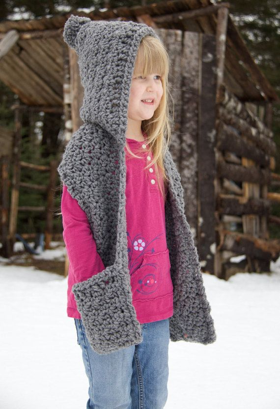 25+ Best Ideas about Crochet Hooded Scarf on Pinterest ...