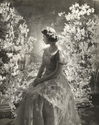 Princess Elizabeth at Buckingham Palace, photo Cecil Beaton