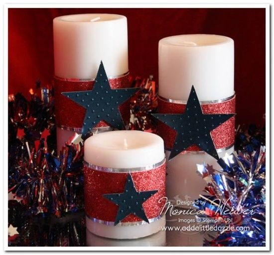 30 Patriotic Home Decoration Ideas In White Blue And Red: ** Independence Day