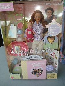 Happy Family Nikki's 1st Birthday Midge and Nikki Barbie Set | eBay