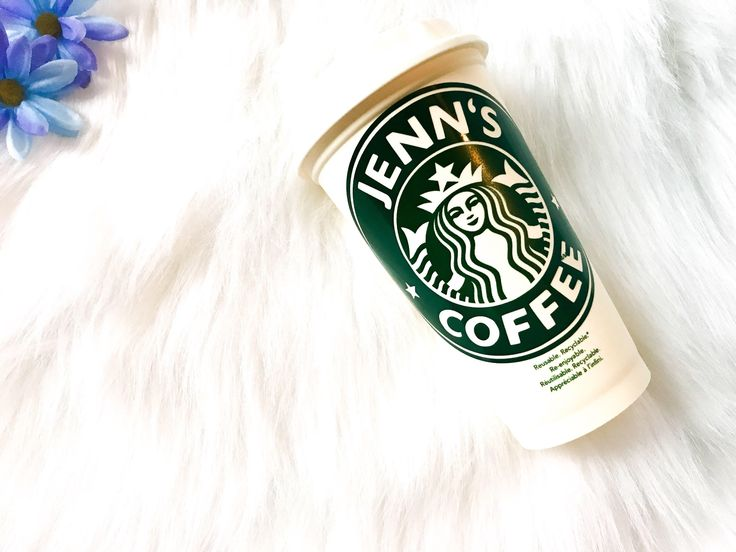 A personal favorite from my Etsy shop https://www.etsy.com/ca/listing/594881753/personalized-starbucks-cup-personalised