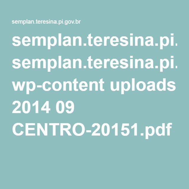 semplan.teresina.pi.gov.br wp-content uploads 2014 09 CENTRO-20151.pdf