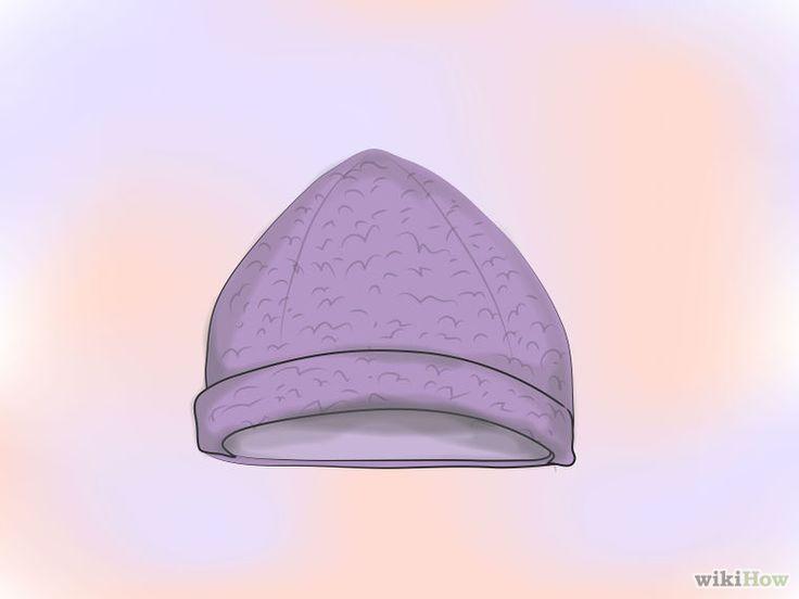 Comment faire un bonnet en tissu polaire: 19 étapes