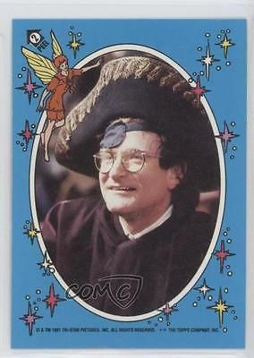 1991 Topps Hook Stickers #2 Peter Banning Robin Williams Non-Sports Card 0a1