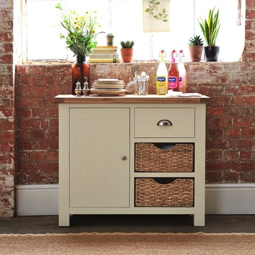 Oxford Painted Small Sideboard (X074) with Free Delivery | The Cotswold Company - G2209