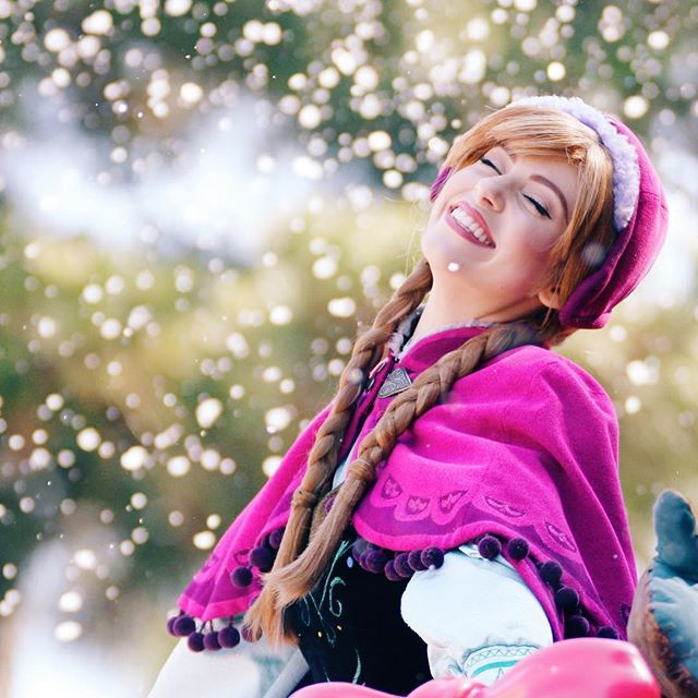 Pure bliss! ❄️❄️ #spudbuds2k16 #tokyodisneyland