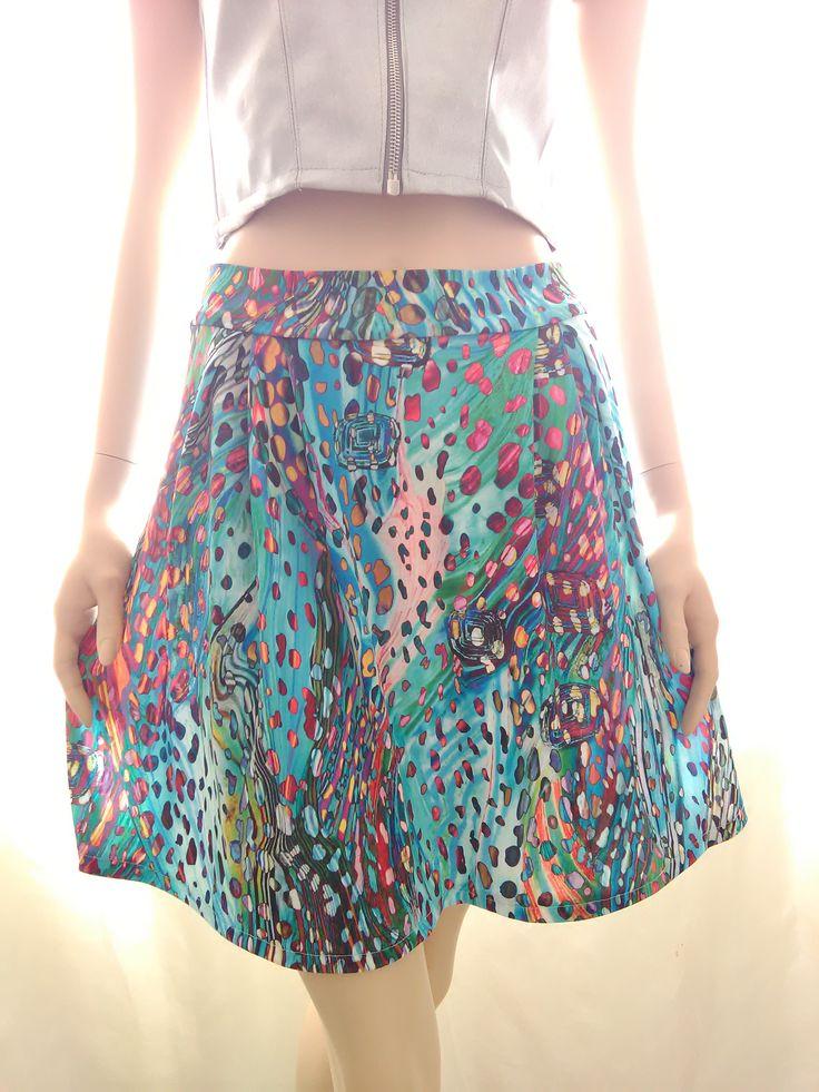 LETTY Minirock, Rock, zu kaufen bei Dawanda, Mode, Kleidung, Damenmode, Sommer, Skirt