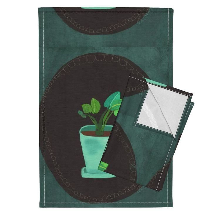 Orpington Tea Towels featuring IMG_3593 by ali_lamontagne_illustration_ | Roostery Home Decor