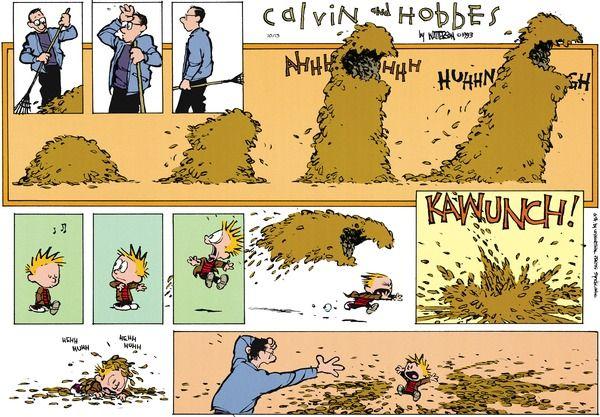 Calvin and Hobbes Comic Strip, October 13, 2013 on GoComics.com