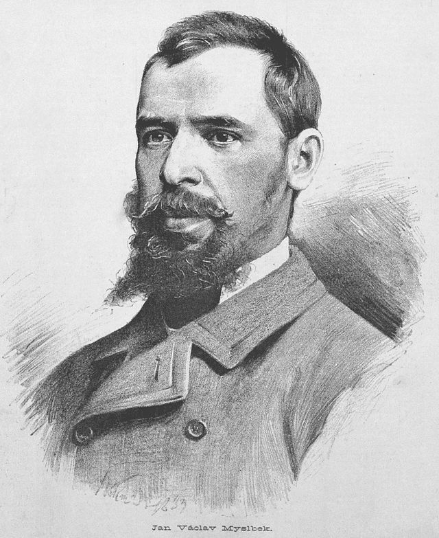 Josef Václav Myslbek (1848) - sculptor and medalist credited with founding the modern Czech sculpting style, among others the author of The Wenceslas Monument in Prague.  #Czechia