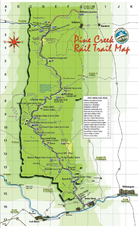 Tioga Road Trail Maps
